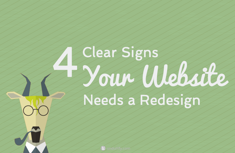 4 Clear Signs Your Website Needs a Redesign