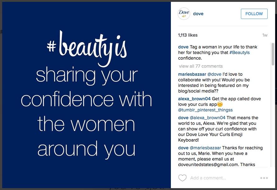 instagram-dove-brandedhashtag2