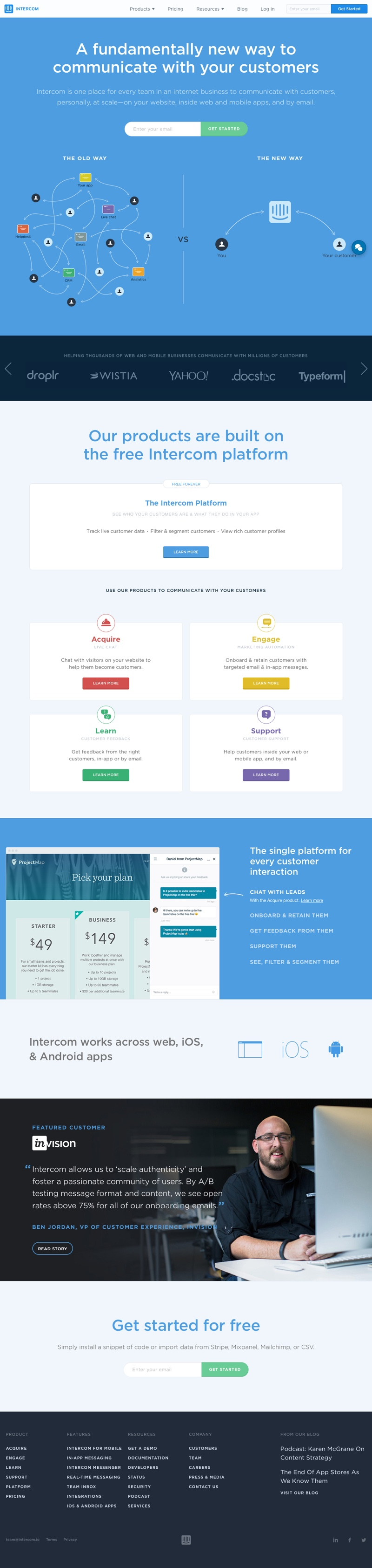 landing-page-intercom