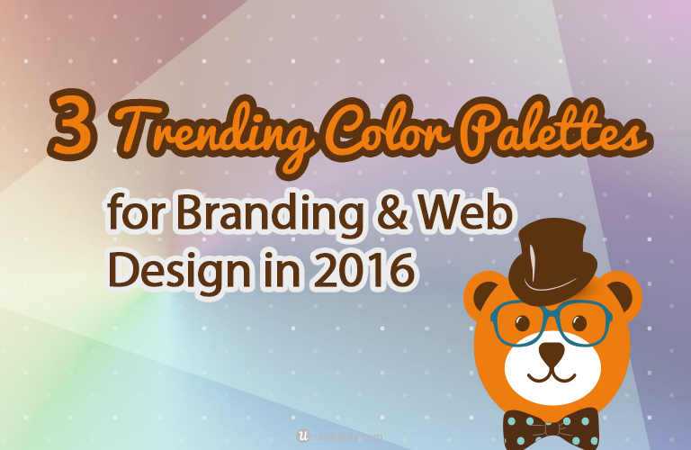 3 Trending Color Palettes for Branding & Web Design in 2016