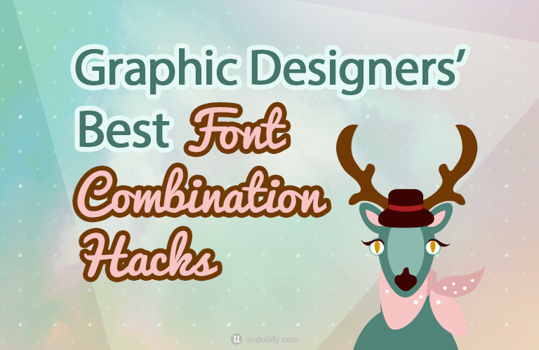Graphic Designers' Best Font Combination Hacks