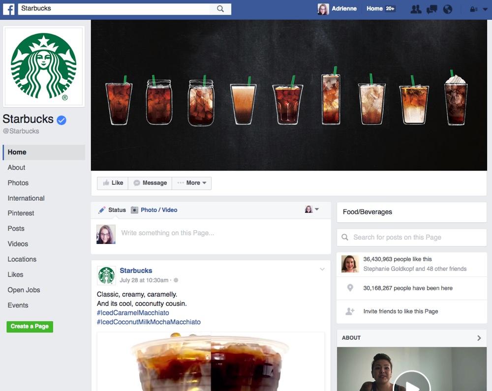 facebook-likes-starbucks-page
