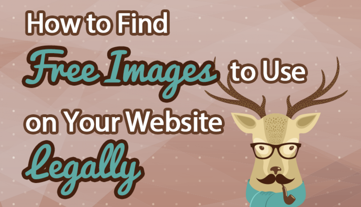 How to Find Free Images to Use on Your Website Legally