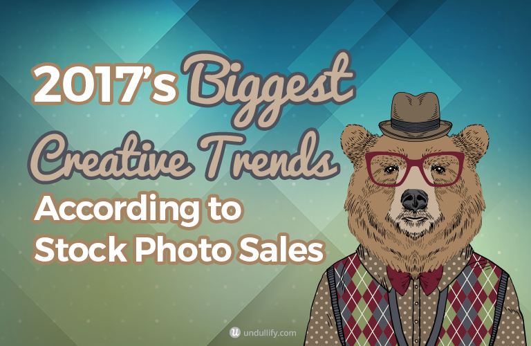 2017's Biggest Creative Trends According to Stock Photo Sales