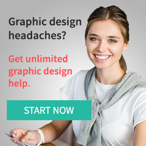 Graphic design headaches? Get unlimited graphic design help.