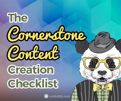 The Cornerstone Content Creation Checklist