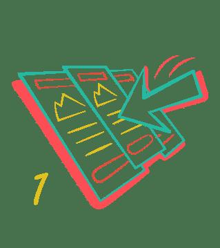 unlimited graphic design service pick a plan icon