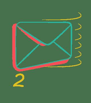 unlimited graphic design service request icon