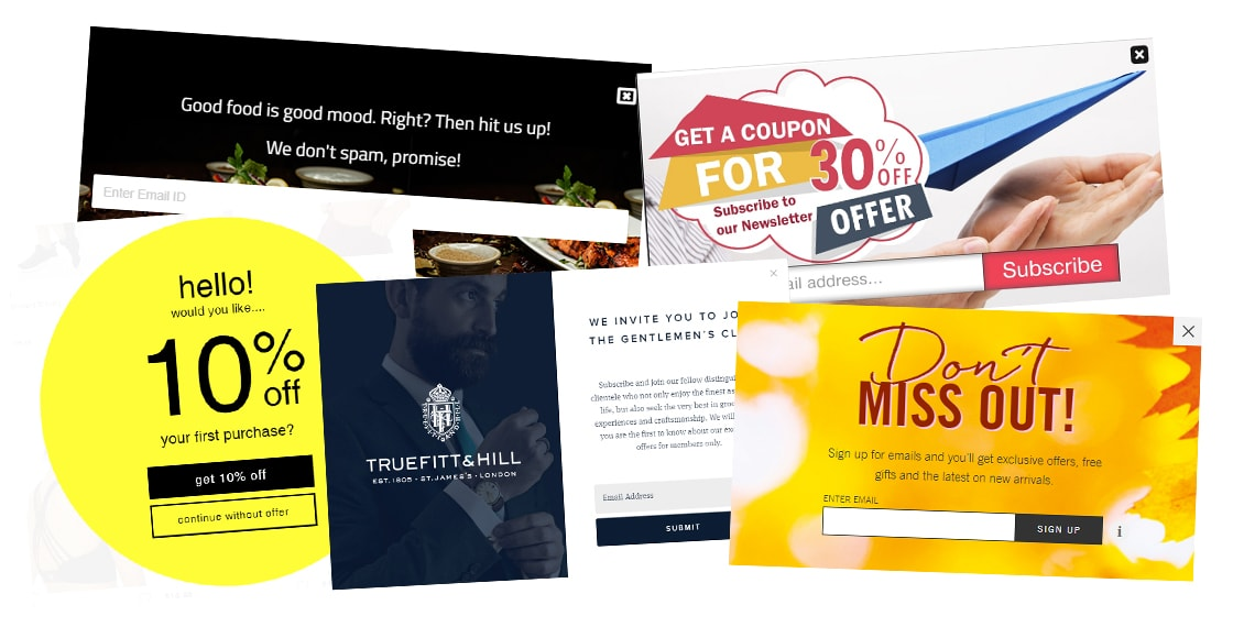 popups are something an unlimited graphic design service can help with
