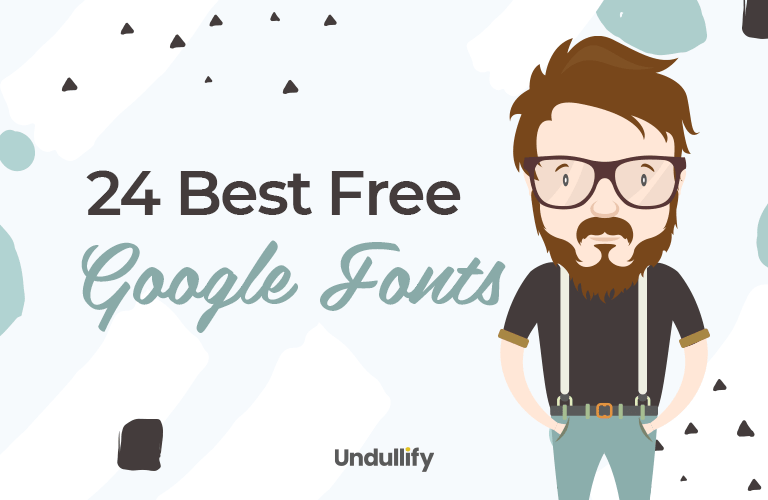 24 Best Free Google Fonts [Visual Guide]